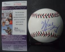 Will Smith Movie Legend Signed Autographed 2015 All-star Game Baseball Jsa Coa