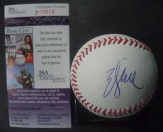Will Smith Movie Legend Signed Autographed Major League Baseball Jsa Coa Rare A