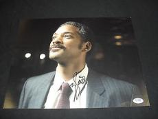 Will Smith Pursuit Of Happiness Signed Auto Autographed 11x14 Photo Psa/dna