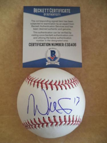 Will Smith San Francisco Giants Signed Autographed M.l. Baseball Beckett E32406