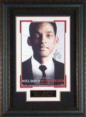 Will Smith - Seven Pounds Autographed 11x17 Framed Poster