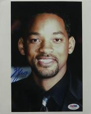 Will Smith Signed Authentic Autographed 8x10 Photo (PSA/DNA) #I72421