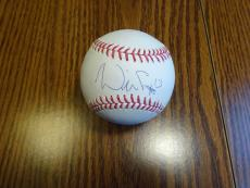 Will Smith Signed Auto OML Baseball Autograph