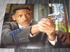 WILL SMITH SIGNED AUTOGRAPH 8x10 PHOTO MEN IN BLACK MIB 3 PROMO IN PERSON COA H