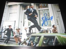 WILL SMITH SIGNED AUTOGRAPH 8x10 PHOTO MEN IN BLACK ROBOT PROMO SHOT ON CAR X10