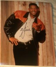 "Will Smith Signed Autograph New Funny ""fresh Prince Of Bel-air"" Promo Photo Coa"
