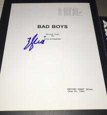 "Will Smith Signed Autograph Rare ""bad Boys"" Complete Movie Script With Coa"