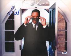 """WILL SMITH Signed Autographed """"MEN IN BLACK"""" 11x14 Photo PSA/DNA #AB15025"""