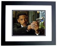Will Smith Signed - Autographed Men in Black 8x10 Photo BLACK CUSTOM FRAME