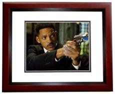 Will Smith Signed - Autographed Men in Black 8x10 Photo MAHOGANY CUSTOM FRAME