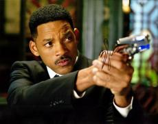 Will Smith Signed - Autographed Men in Black MIB 11x14 Photo