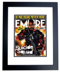 Will Smith Signed - Autographed Suicide Squad 11x14 Photo BLACK CUSTOM FRAME