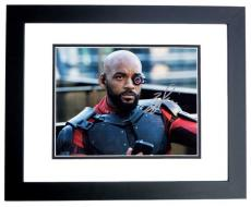 Will Smith Signed - Autographed Suicide Squad 8x10 Photo as Deadshot - BLACK CUSTOM FRAME
