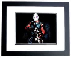 Will Smith Signed - Autographed Suicide Squad 8x10 Photo BLACK CUSTOM FRAME