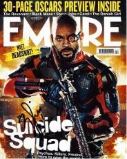 Will Smith Signed - Autographed Suicide Squad 8x10 Photo - Deadshot