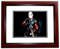 Will Smith Signed - Autographed Suicide Squad 8x10 Photo MAHOGANY CUSTOM FRAME