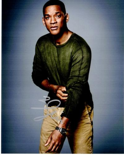 Will Smith Signed - Autographed Suicide Squad Actor 8x10 inch Photo - Guaranteed to pass PSA or JSA