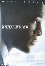 Will Smith Signed Concussion Auto 27x40 Original Movie Poster PSA/DNA #AB63757