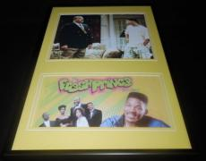 Will Smith Signed Framed 12x18 Photo Display JSA Fresh Prince of Bel Air