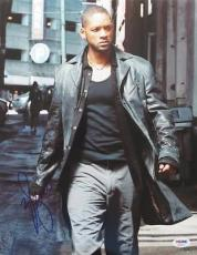 Will Smith Signed I Robot Authentic Autographed 11x14 Photo (PSA/DNA) #S23271