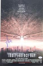 """WILL SMITH Signed """"INDEPENDENCE DAY"""" 12x18 Photo Poster PSA/DNA #AB16100"""