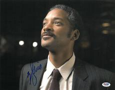 Will Smith Signed Pursuit of Happiness Autographed 11x14 Photo (PSA/DNA) #H27493