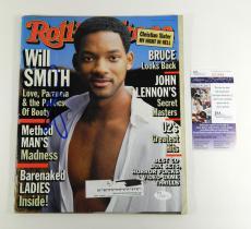 Will Smith Signed Rolling Stone Magazine 12/10/98 1998 JSA Auto