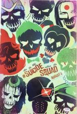 """WILL SMITH Signed """"SUICIDE SQUAD"""" 12x18 Photo Poster PSA/DNA #AB97450"""