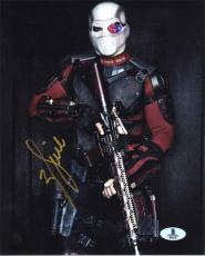 Will Smith Suicide Squad Autographed Signed 8x10 Photo Beckett BAS COA