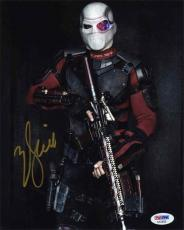 Will Smith Suicide Squad Autographed Signed 8x10 Photo Certified PSA/DNA COA