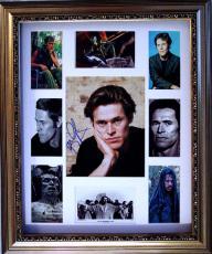 WILLEM DAFOE Autographed Signed Framed Photo Display    AFTAL