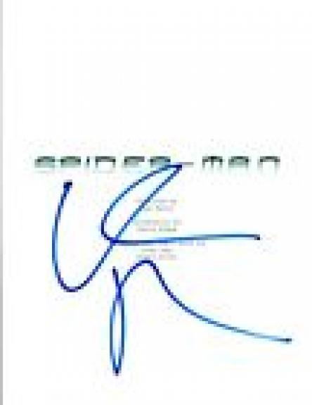 Willem Dafoe Signed Autographed SPIDER-MAN Full Movie Script COA