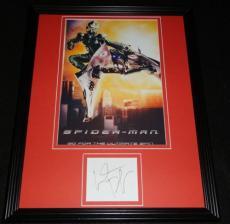 Willem Dafoe Signed Framed 11x14 Photo Display Spiderman Green Goblin