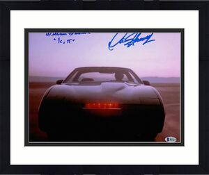 William Daniels David Hasselhoff Autograph Signed Knight Rider 11x14 Beckett 19