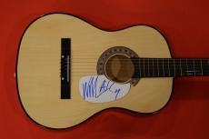 William DuVall Signed Autographed Acoustic Guitar Alice in Chains Lead Singer