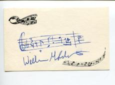 William Goldstein Composer Fame The Twilight Zone Signed Autograph AMQ Quote