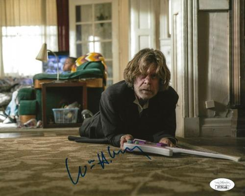 William H. Macy signed Shameless 8x10 photo Frank Gallagher autographed 11 JSA