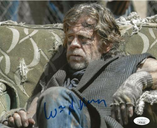 William H. Macy signed Shameless 8x10 photo Frank Gallagher autographed 3 JSA