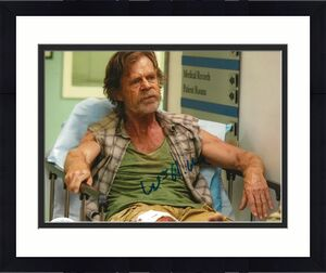 William H. Macy signed Shameless 8x10 photo Frank Gallagher autographed 6 JSA