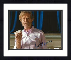William H. Macy signed Shameless 8x10 photo Frank Gallagher autographed 7 JSA