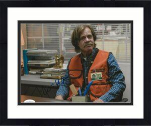 William H. Macy signed Shameless 8x10 photo Frank Gallagher autographed 8 JSA