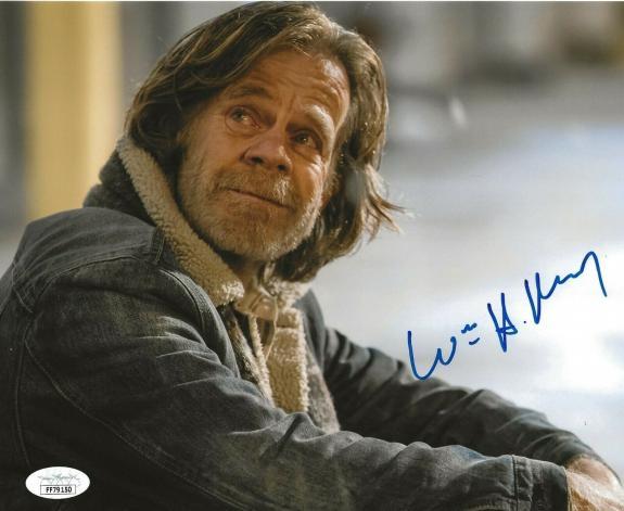 William H. Macy signed Shameless 8x10 photo Frank Gallagher autographed 9 JSA