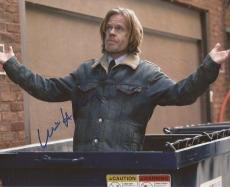 William H. Macy signed Shameless 8x10 photo Frank Gallagher Proof autographed 4