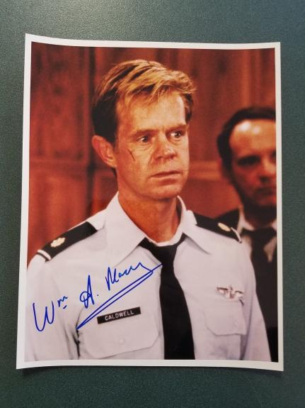 William Macy-signed photo-JSA