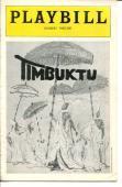 William Marshall Melba Moore Eartha Kitt Gilbert Price Timbuktu Playbill