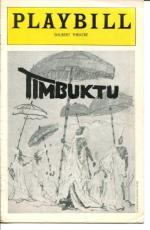 William Marshall Melba Moore Eartha Kitt Gilbert Price Timbuktu Playbill