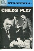 William Munchow Bill Morey Roger Baron Robert Marasco Child Play Playbill