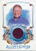 William Shatner 2017 Topps Allen & Ginter Relic Card