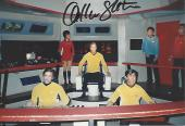 "WILLIAM SHATNER as JAMES T. KIRK in ""STAR TREK"" Signed 6x4 Color Photo"
