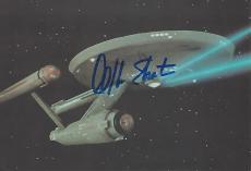 "WILLIAM SHATNER as JAMES T. KIRK in ""STAR TREK"" Signed 6x4 POST CARD"